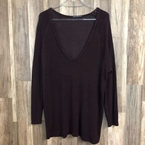Brandy Melville Long Sleeve Relaxed Sweater OS